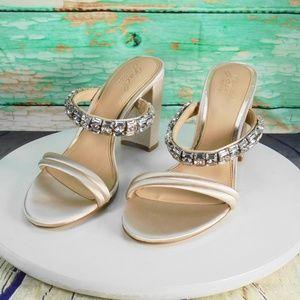 Badgley Mischka Katherine Dress Sandals Size 9 M